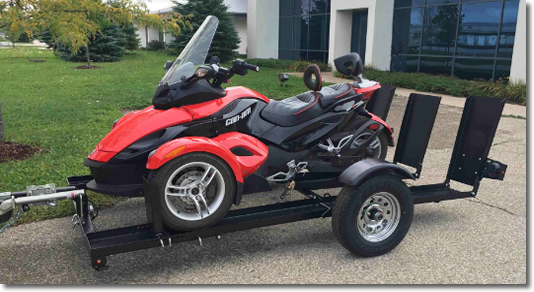 Can Am Spyder Tow